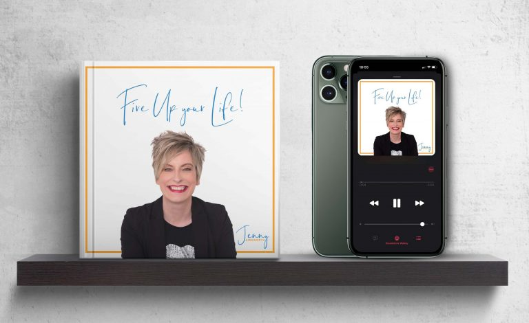 Fire Up your Life mockup